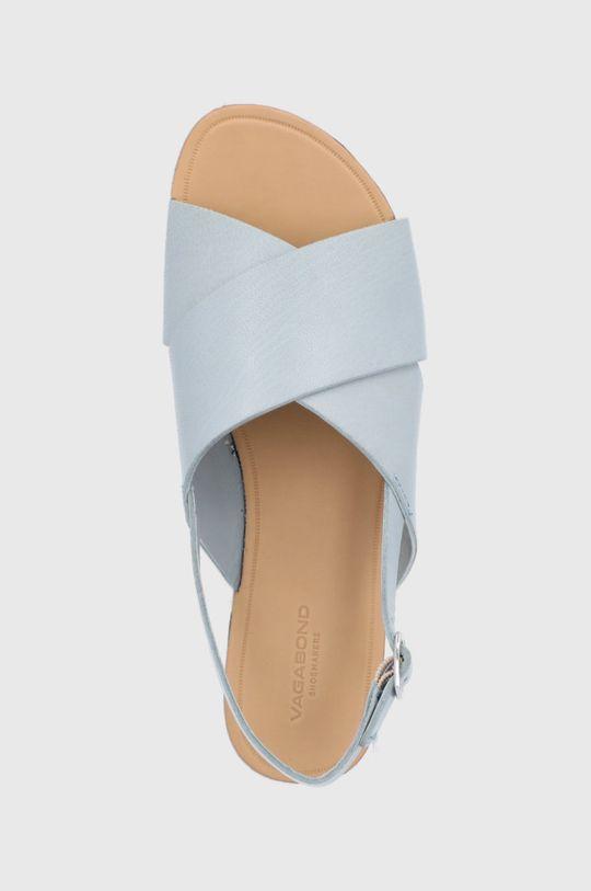 svetlomodrá Vagabond - Kožené sandále Tia