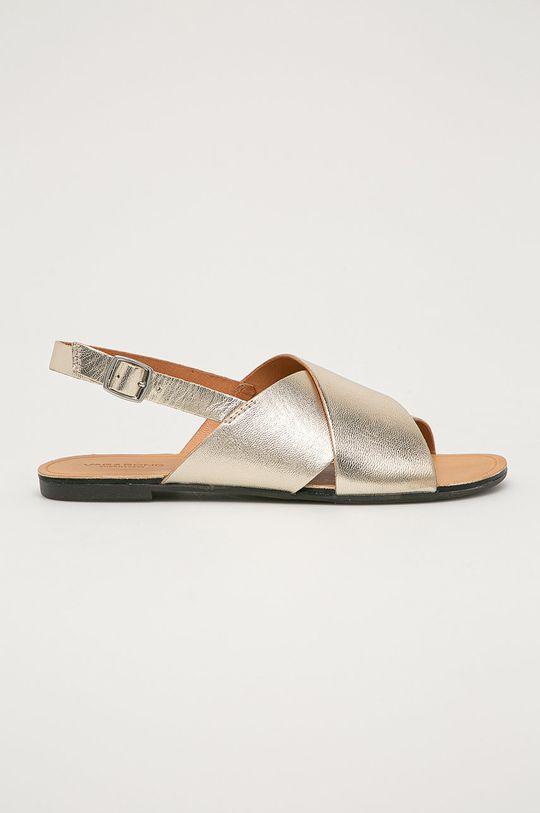 zlatá Vagabond - Kožené sandále Tia Dámsky