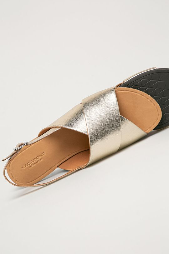 zlatá Vagabond - Kožené sandále Tia