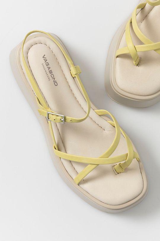galben Vagabond - Sandale de piele Courtney