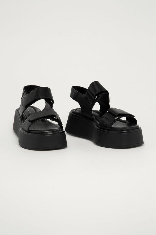 Vagabond - Kožené sandále Courtney čierna