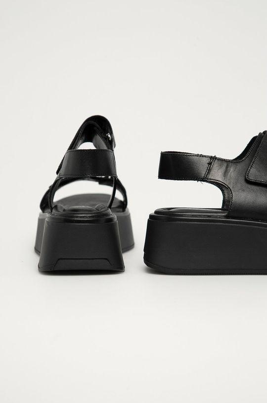 Vagabond - Kožené sandále Courtney  Zvršok: Prírodná koža Vnútro: Prírodná koža Podrážka: Syntetická látka