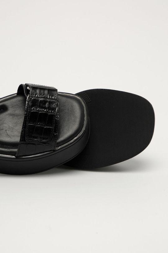 černá Vagabond - Kožené sandály Courtney