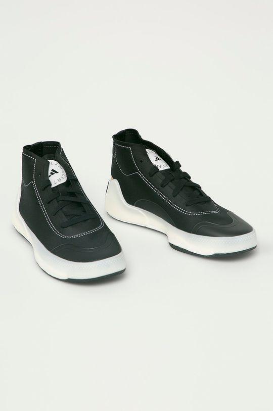 adidas by Stella McCartney - Pantofi aSMC Treino Mid negru