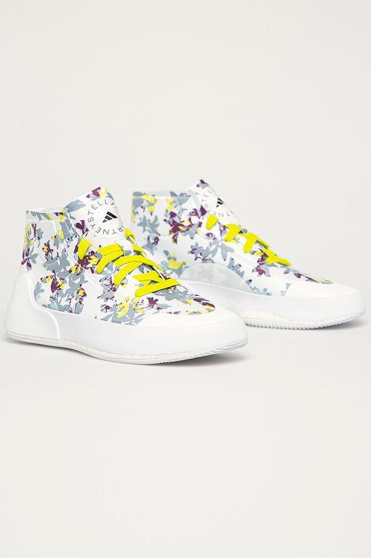 adidas by Stella McCartney - Topánky Treino Mid Pri biela