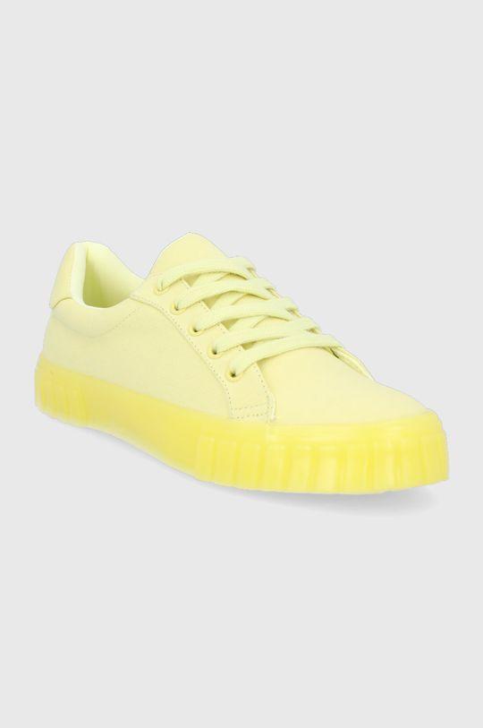 Call It Spring - Tenisky Jordanna žlto-zelená