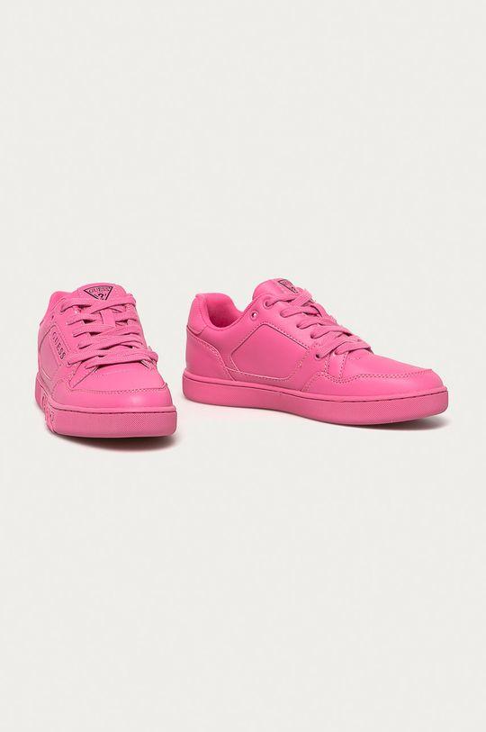 Guess - Buty różowy