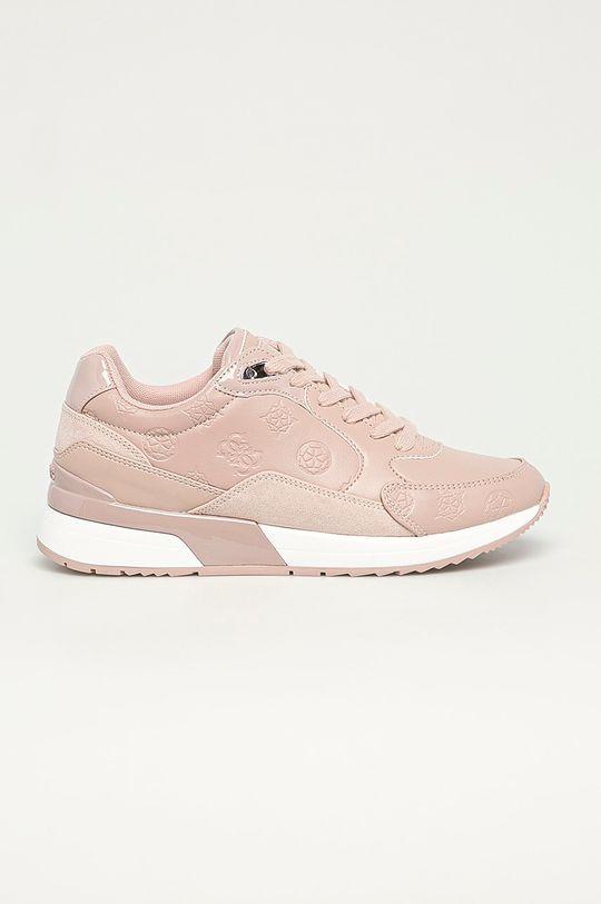 ružová Guess - Topánky Dámsky