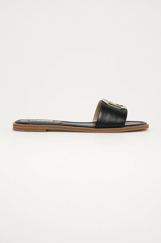 černá Guess - Pantofle Dámský