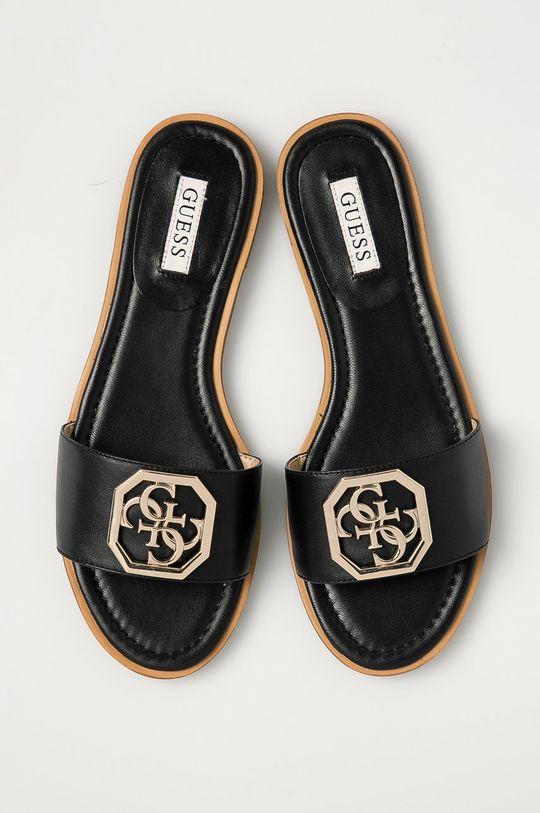 černá Guess - Pantofle