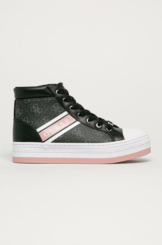 čierna Guess - Topánky Dámsky