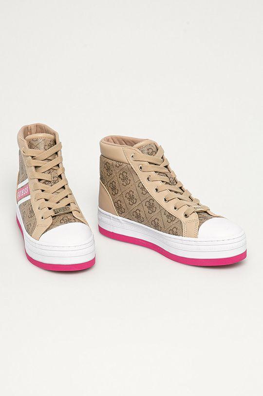 Guess - Pantofi maro