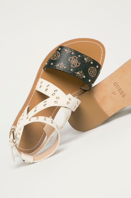 krémová Guess - Sandále