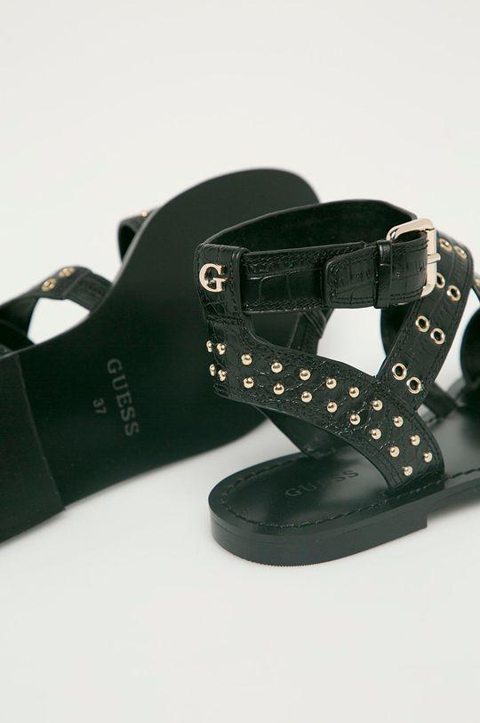 Guess - Sandále  Zvršok: Syntetická látka Vnútro: Syntetická látka Podrážka: Syntetická látka