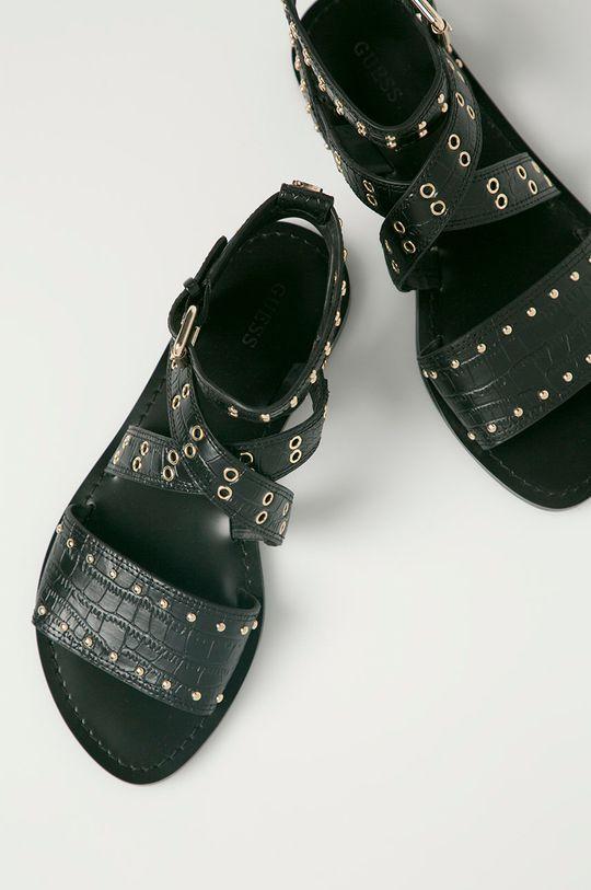 čierna Guess - Sandále