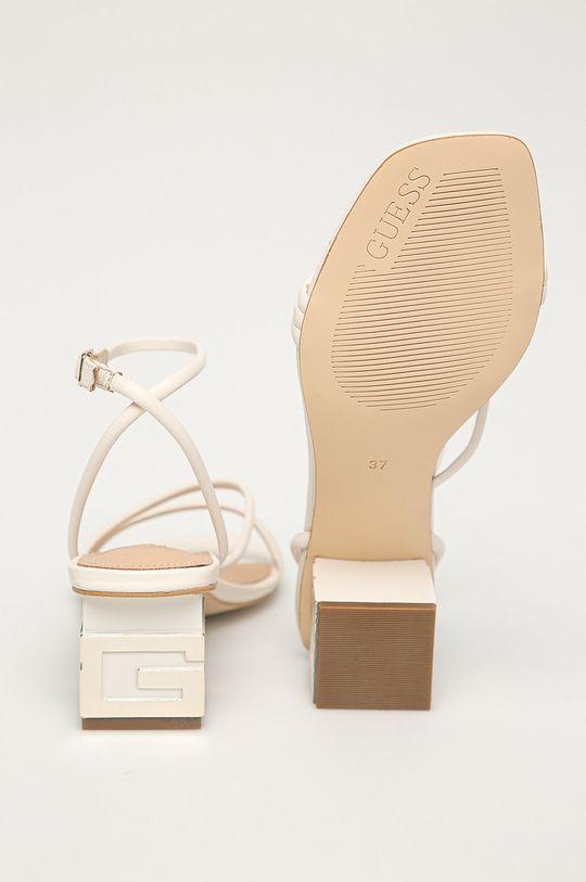 Guess - Kožené sandály  Svršek: Přírodní kůže Vnitřek: Umělá hmota, Přírodní kůže Podrážka: Umělá hmota