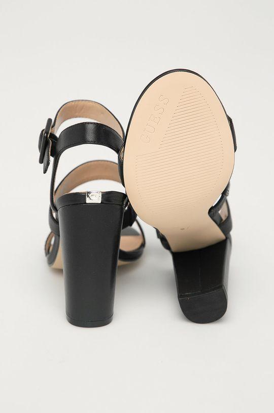 Guess - Kožené sandály  Svršek: Přírodní kůže Vnitřek: Umělá hmota Podrážka: Umělá hmota