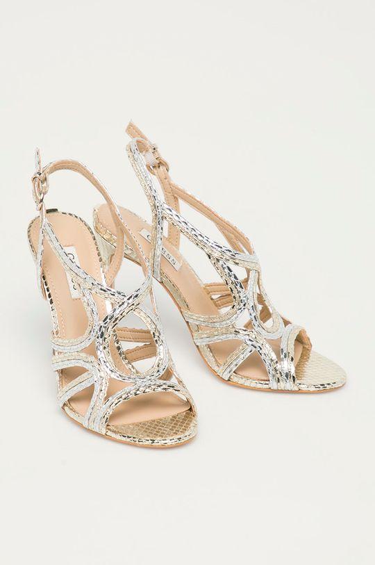Guess - Sandály stříbrná