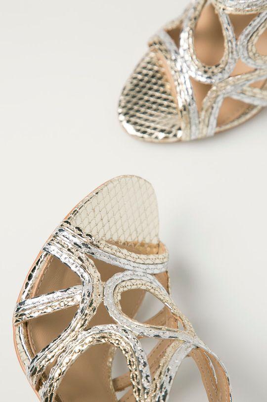 stříbrná Guess - Sandály