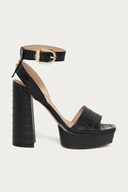 čierna Guess - Sandále Dámsky
