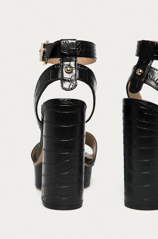 Guess - Sandále  Zvršok: Syntetická látka Vnútro: Syntetická látka, Prírodná koža Podrážka: Syntetická látka