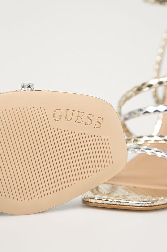 zlatá Guess - Sandály