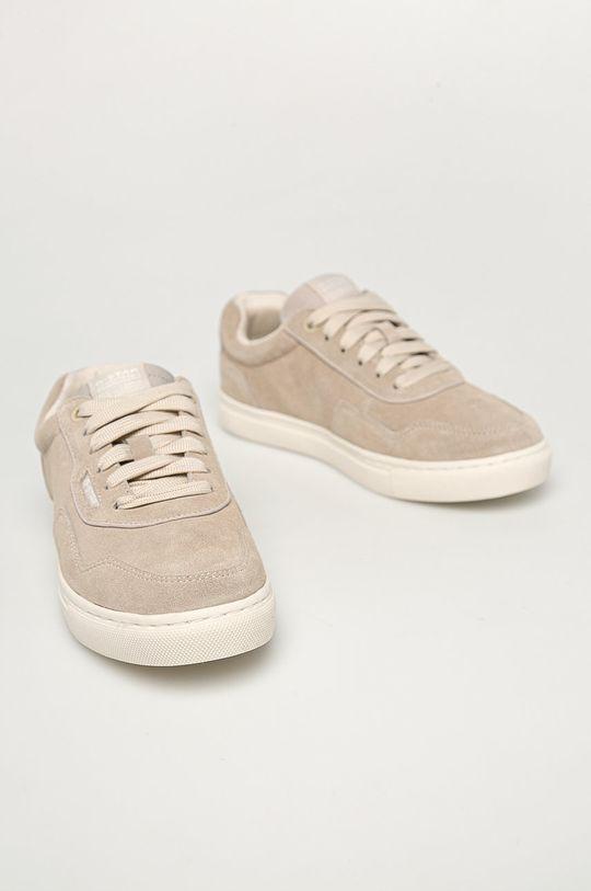 G-Star Raw - Semišové boty šedá
