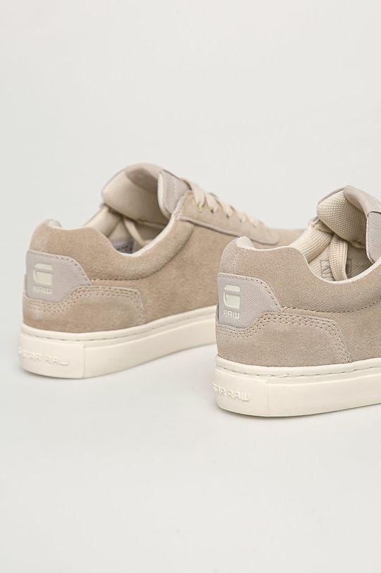 G-Star Raw - Semišové boty  Svršek: Semišová kůže Podrážka: Umělá hmota Vložka: Textilní materiál
