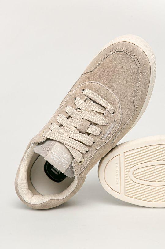 šedá G-Star Raw - Semišové boty
