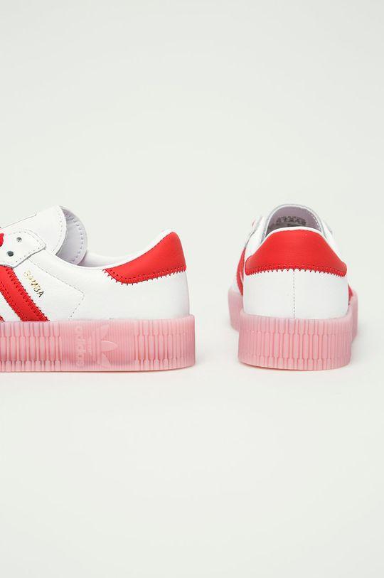 adidas Originals - Kožená obuv Sambarose  Zvršok: Prírodná koža Vnútro: Textil Podrážka: Syntetická látka