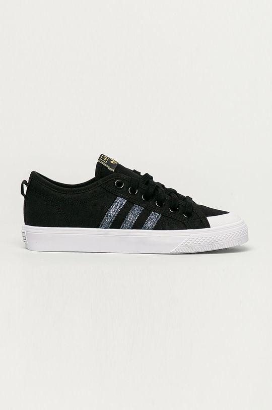 czarny adidas Originals - Tenisówki Nizza Damski