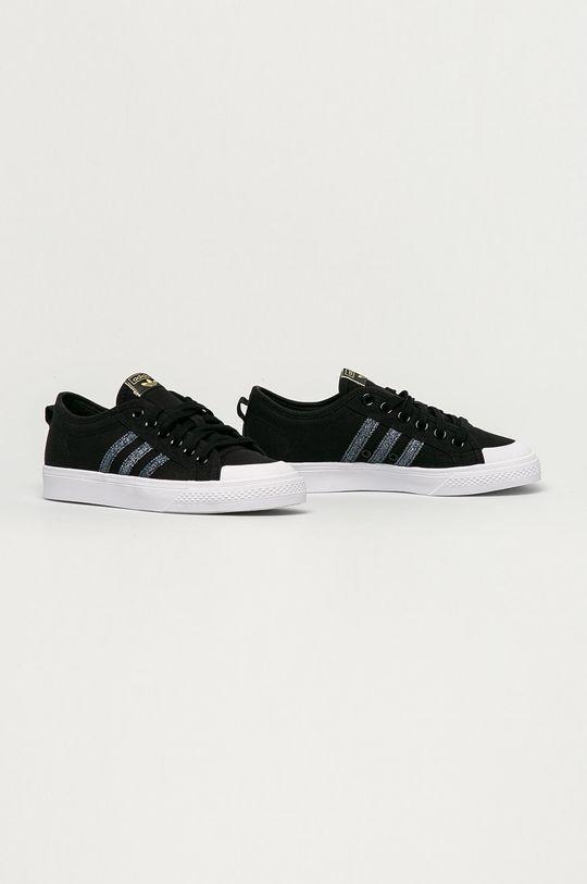 adidas Originals - Tenisówki Nizza czarny