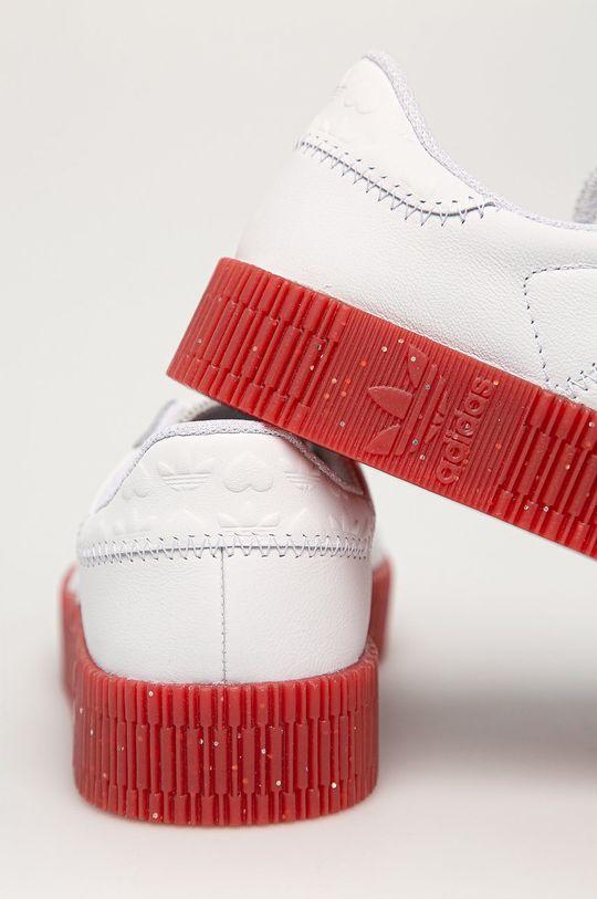 adidas Originals - Buty skórzane Sambarose Cholewka: Skóra naturalna, Wnętrze: Materiał tekstylny, Podeszwa: Materiał syntetyczny