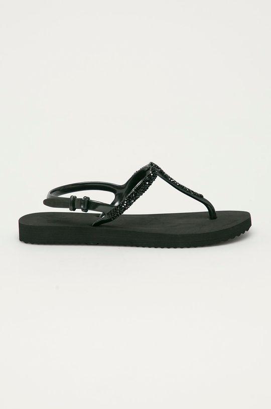 čierna Flip*Flop - Sandále Dámsky