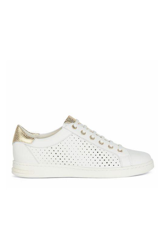 bílá Geox - Kožené boty Dámský