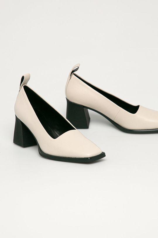 Vagabond - Pantofi de piele Hedda crem