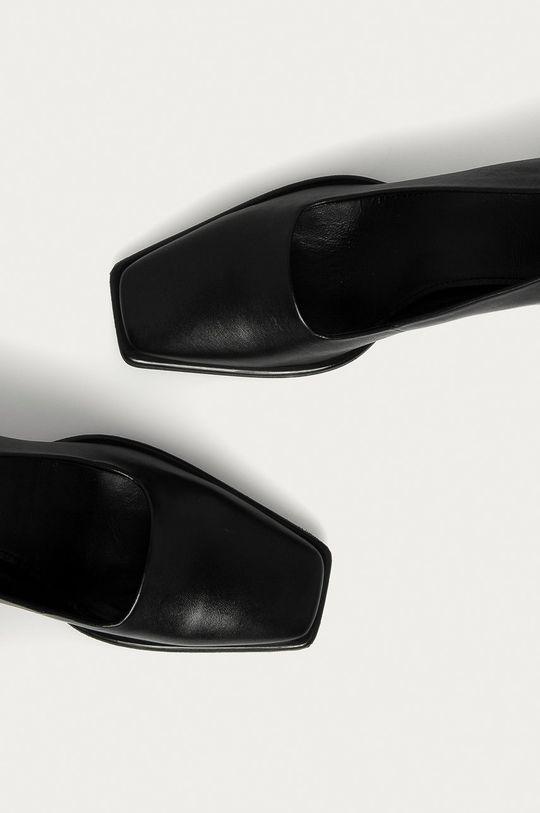čierna Vagabond - Kožené lodičky Hedda