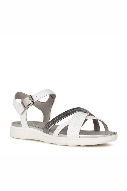 Geox - Sandály bílá
