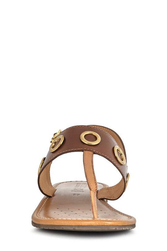 Geox - Sandale de piele  Gamba: Piele naturala Interiorul: Piele naturala Talpa: Material sintetic