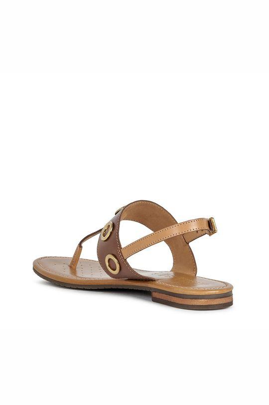 maro auriu Geox - Sandale de piele