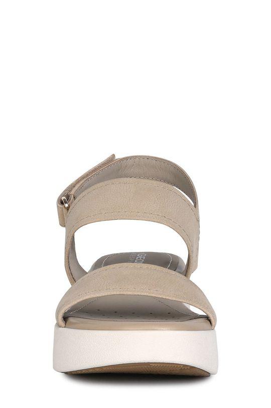 Geox - Kožené sandále  Zvršok: Prírodná koža Vnútro: Syntetická látka Podrážka: Syntetická látka