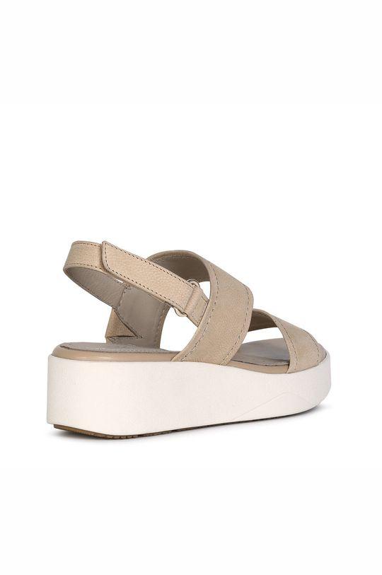 Geox - Kožené sandále Dámsky