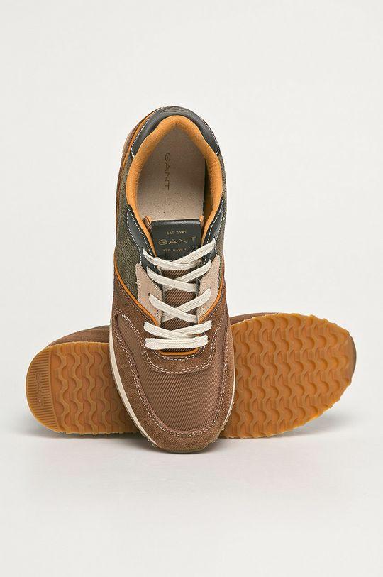 hnedá Gant - Topánky Bevinda