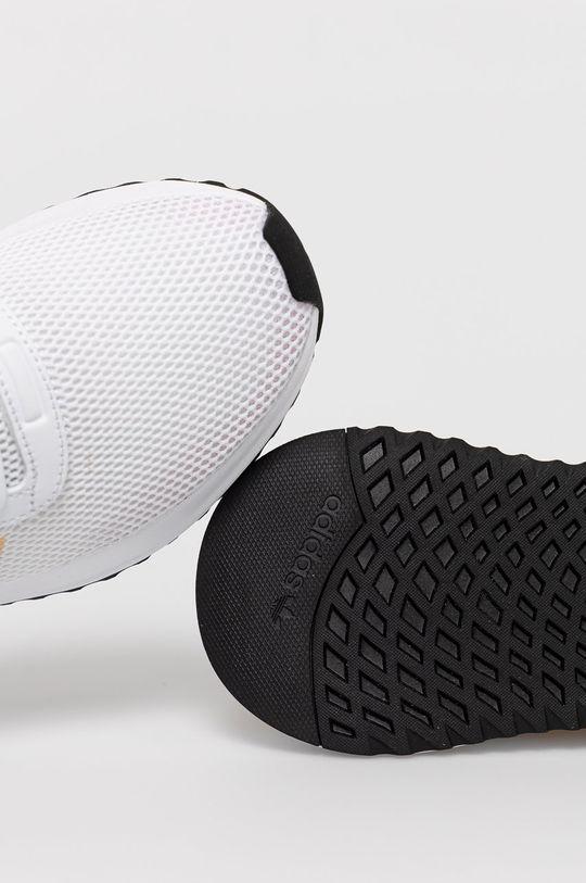 alb adidas Originals - Pantofi U_PATH X W