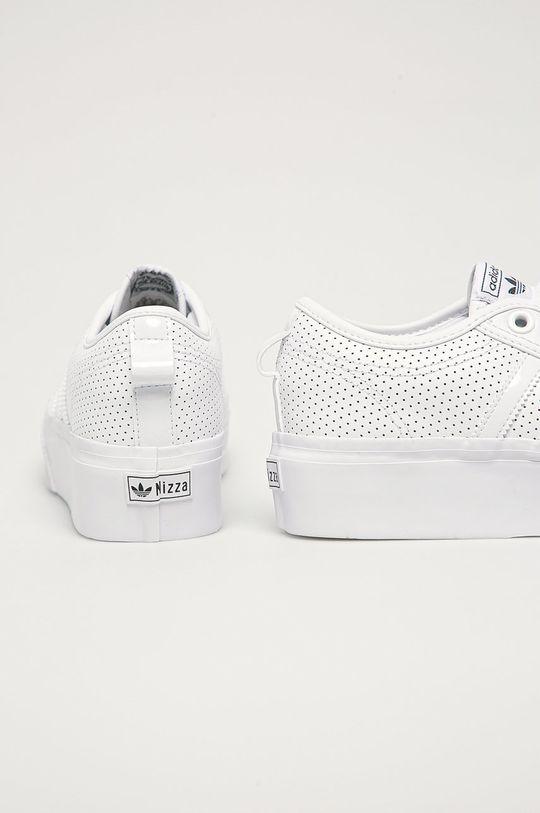 adidas Originals - Topánky Nizza Platform  Zvršok: Syntetická látka, Prírodná koža Vnútro: Syntetická látka, Textil Podrážka: Syntetická látka