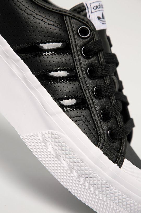 adidas Originals - Ghete de piele Nizza Platform De femei