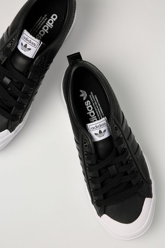 adidas Originals - Ghete de piele Nizza Platform