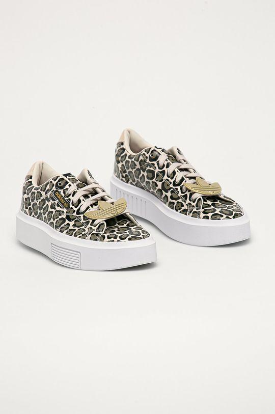 adidas Originals - Kožené boty Sleek Super vícebarevná
