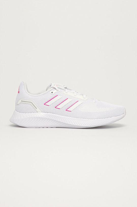 biały adidas - Buty Runfalcon 1.0 Damski
