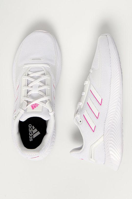 biały adidas - Buty Runfalcon 1.0